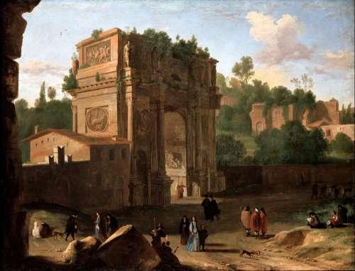 Herman Van Swanevelt Painting Art Artistic Artistry
