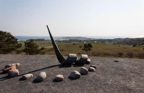 Hiddensee Baltic Sea Art Sculpture