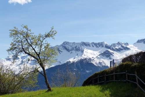 High Tauern Mountains Alpine Austria