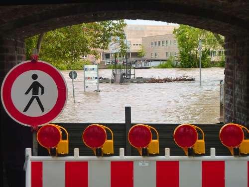 High Water Locked Damage Flood Damage Destruction