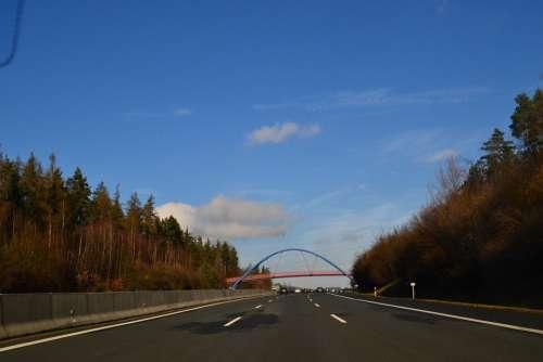Highway Overtaking Fast Lane Road Speed Traffic