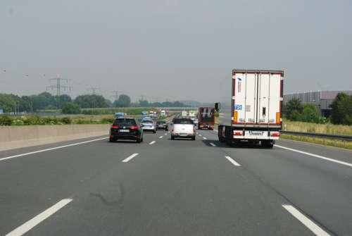 Highway Germany Asphalt Driving School