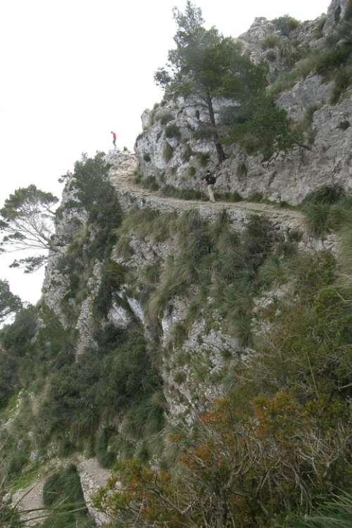 Hike Mallorca Cap De Formentor Cliff