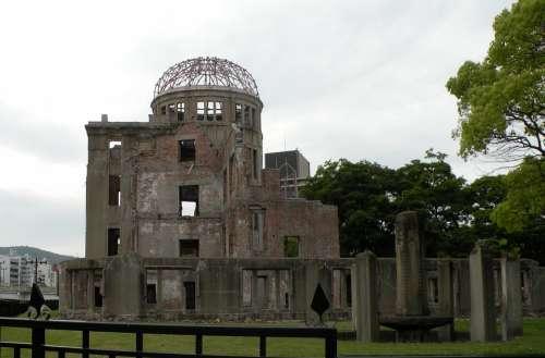 Hiroshima Peace Memorial Symbols Memorial Atom Bomb