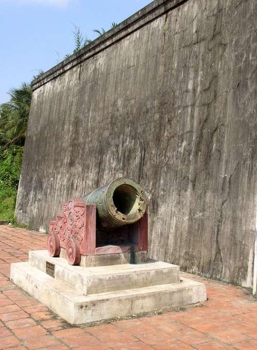 History Bomb Cannon B-52 War Vietnam Historic