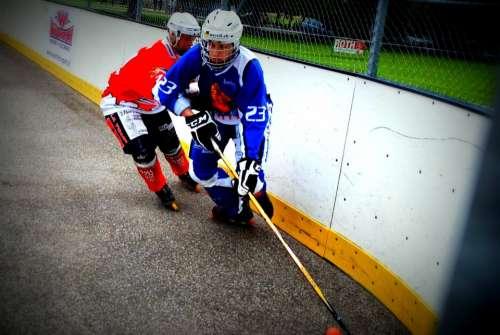 Hockey Duel Play Inline Hockey Skater Hockey