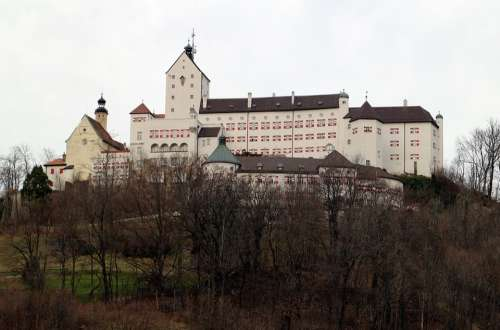 Hohenaschau Castle Height Burg Height Aschau