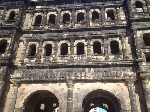Holder Black Black Gate Trier Roman Architecture