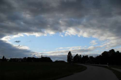 Hole Sky Clouds Atmospheric Beautiful Clouded Sky