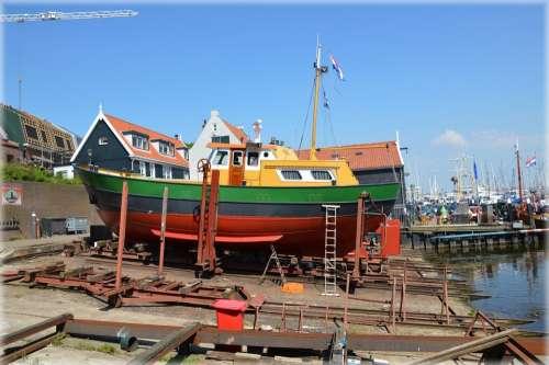 Holland Netherlands Urk Fish Fishermen Culture