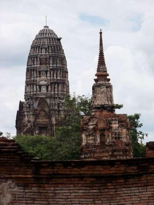 Holy Holy City Ayuthaya Perish Thailand Faith