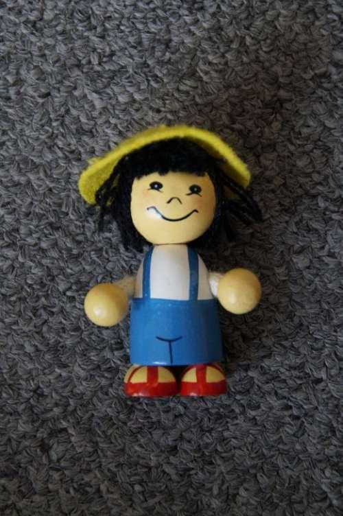 Holzfigur Toys Game Figure Figure Child Children
