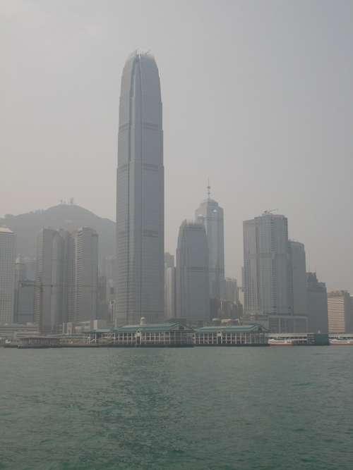 Hongkong Skyline Smog City