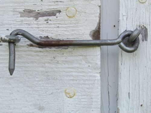 Hook Hardware Equipment Screw Metal Closed