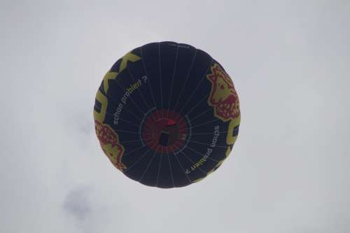 Hot Air Balloon From The Bottom Captive Balloon