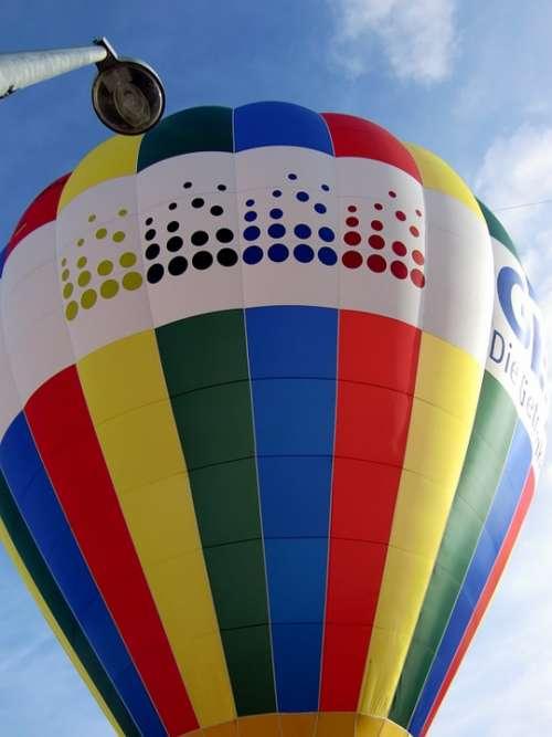 Hot Air Balloon Hot Air Balloon Ride Balloon Start