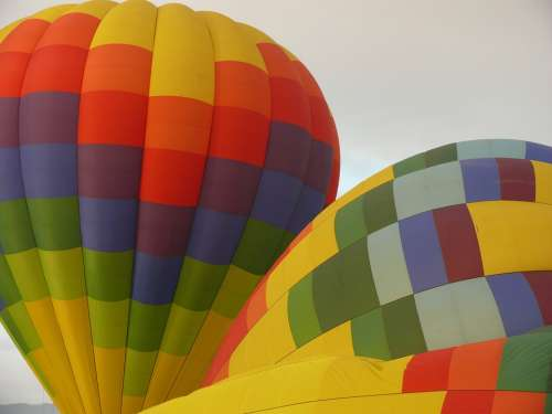 Hot Air Balloons Balloons Colorful Drift Aviation