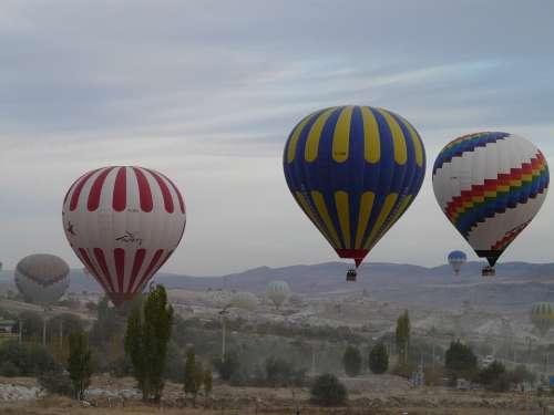 Hot Air Balloons Captive Balloons