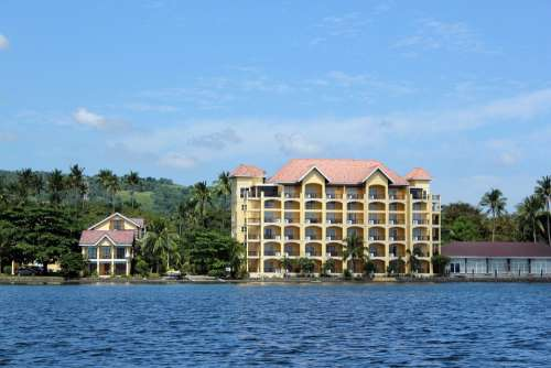 Hotel Accommodation Vacation Place Beach Sea
