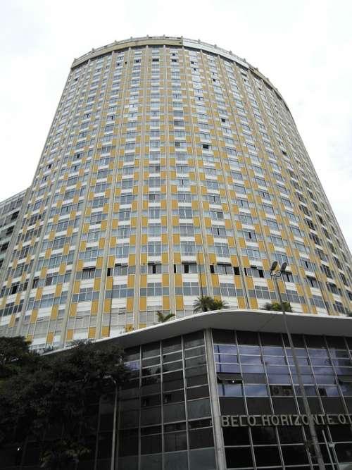Hotel Skyscraper Building Facade Window