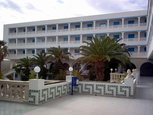Hotel Palm Trees Hammamet Tunisia