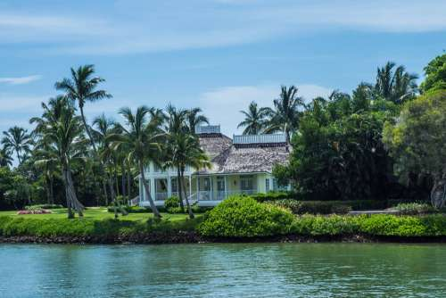 House Florida Architecture Coast Ocean Sea Water