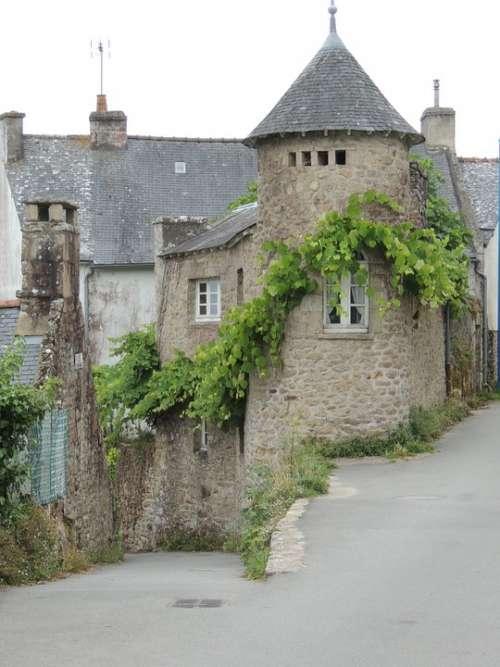 House Brittany Morbihan Ile Aux Moines Stones