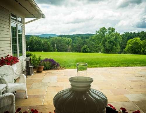 House Living Garden Vermont Mount Mansfield Green