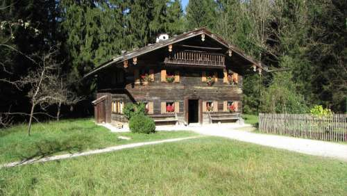 House Woodhouse Building Alpine Austria Salzburg