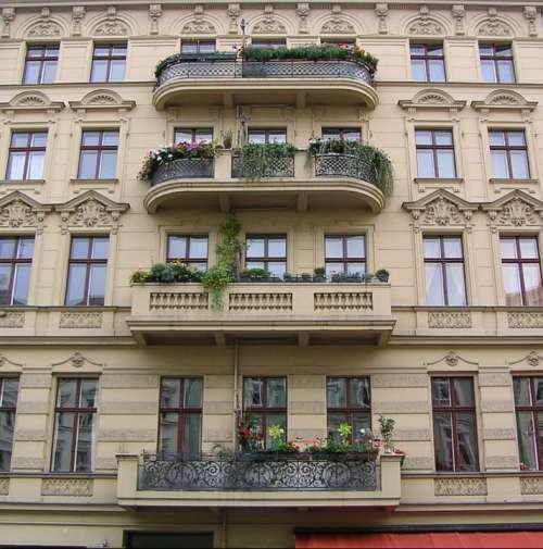 House Facade Balcony Rmazza Kreuzberg Berlin