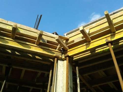 Housebuilding Site Shell Formwork Maurer Raw Bauer