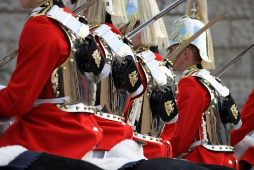 Household Cavalry Mounted Soldiers Cavalry London