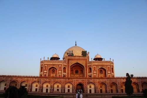 Humayun'S Tomb India Monument Delhi Building