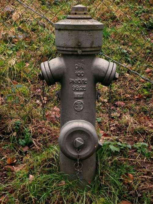Hydrant Water Hydrant Metal Grey