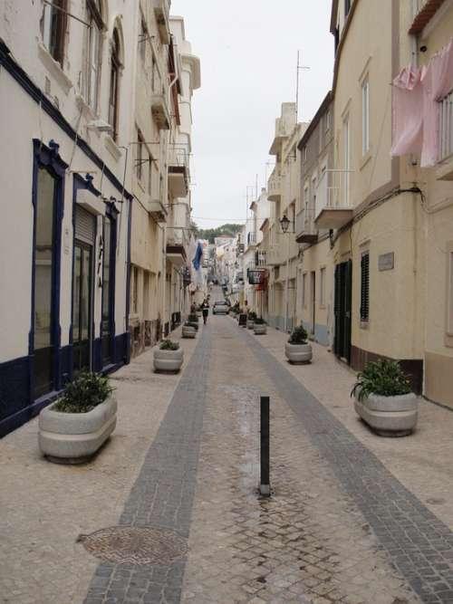 I Nazaré Portugal Street