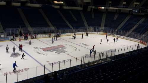 Ice Hockey Rink Hockey Rink Skating Hockey Stadium
