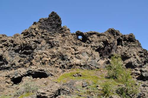 Iceland Dimmuborgir Rock Stones Troll
