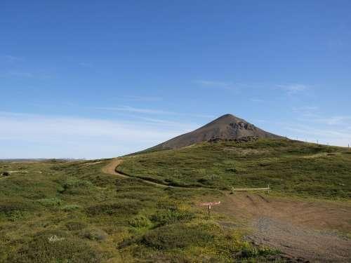 Iceland Landscape Mountain