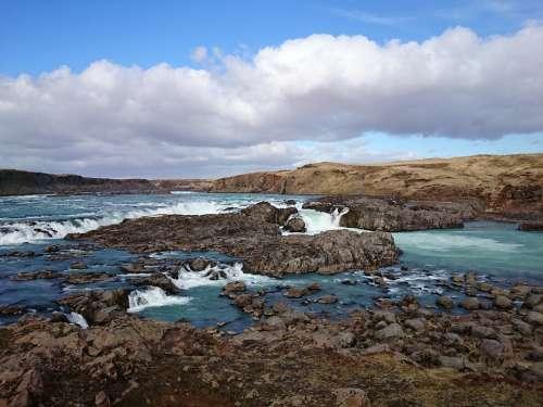 Iceland River Landscape