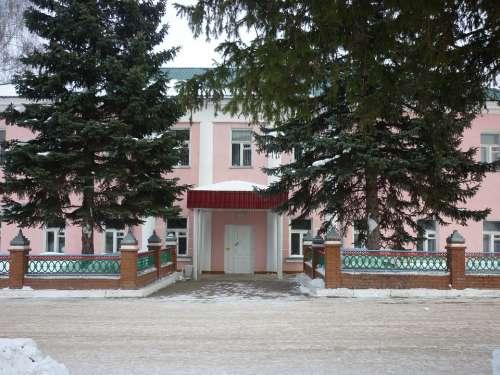 Iglino Bashkiria At Home Building Winter