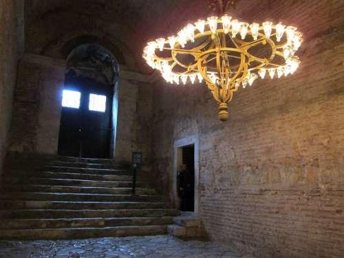 Igreja Luz Luminária Turkey Istanbul Hagia Sophia
