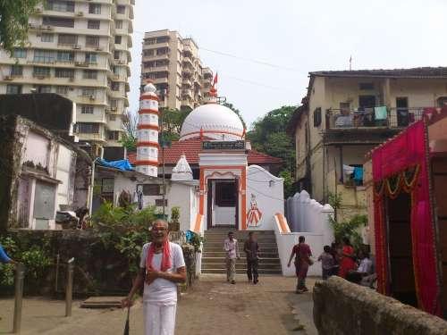 India Mumbai Bombay City Religion Temple Alley