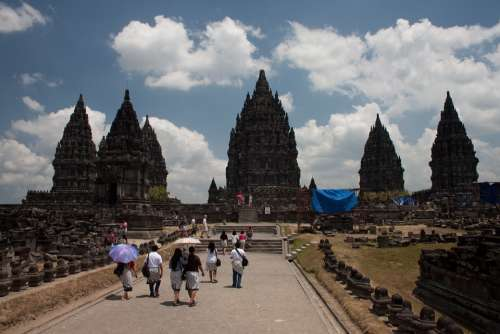 Indonesia Bropudur Java Temple
