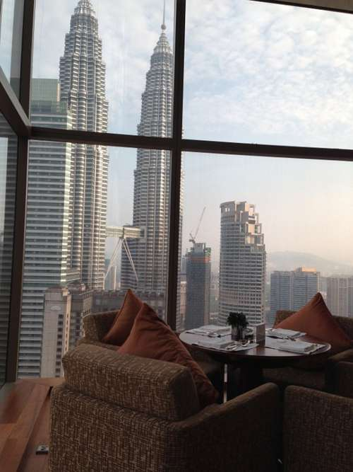 Indoor Room Luxury Hotel View Malaysia