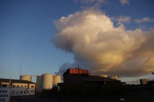 Industry Sky Cloud