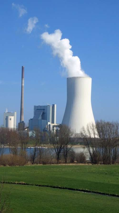 Industry Smoke Cooling Tower Power Plant