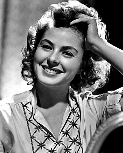 Ingrid Bergman Actress Vintage Movies