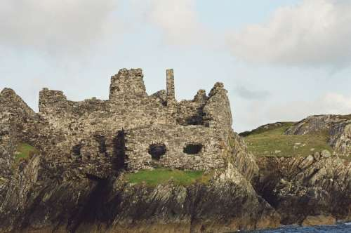 Inisboffin Crowmwell'S Fort Galway Ruins Castle
