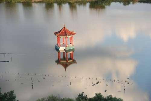 Inner Mongolia Gazebo The Water Cloud Natural