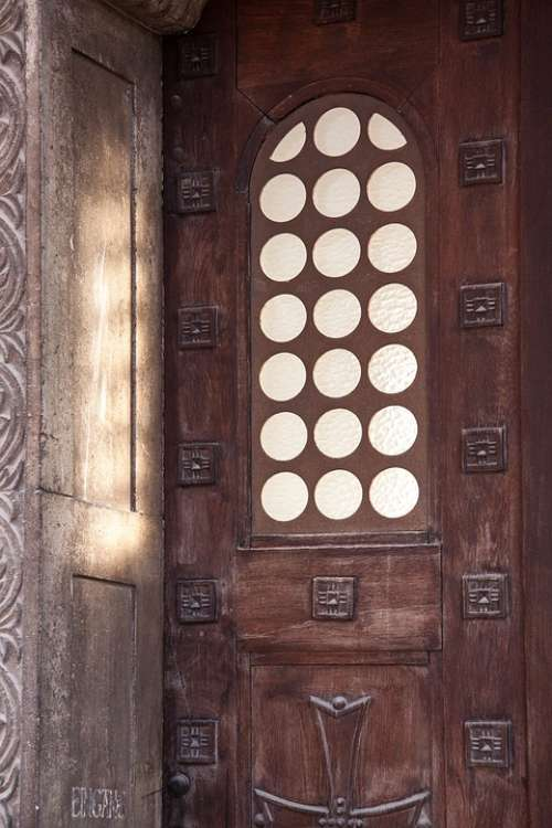 Input Door Goal Carved Architecture Building